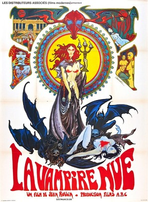 La vampire nue - French Movie Poster (thumbnail)
