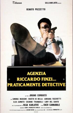 Agenzia Riccardo Finzi, praticamente detective - Italian Movie Poster (thumbnail)