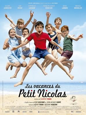 Les vacances du petit Nicolas - French Movie Poster (thumbnail)