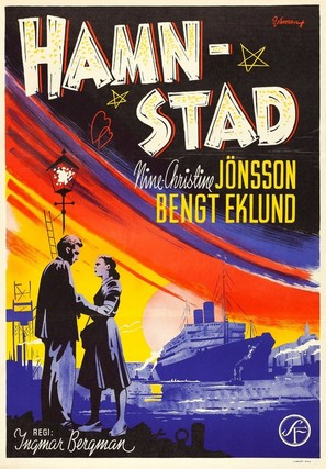 Hamnstad - Swedish Movie Poster (thumbnail)