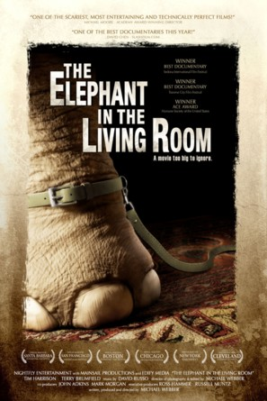 The Elephant in the Living Room - Movie Poster (thumbnail)