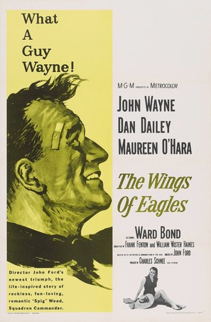 The Wings of Eagles - Movie Poster (thumbnail)