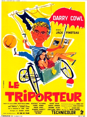 Le triporteur - French Movie Poster (thumbnail)