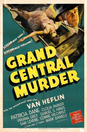Grand Central Murder - Movie Poster (thumbnail)