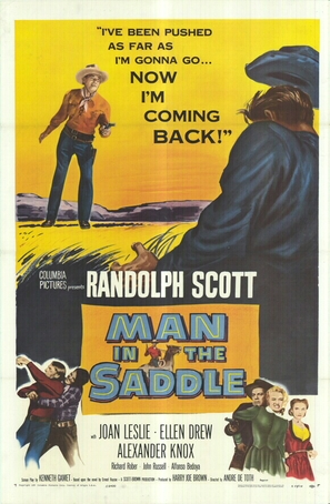 Man in the Saddle - Movie Poster (thumbnail)