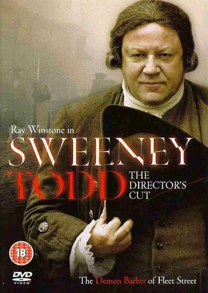 Sweeney Todd - DVD movie cover (thumbnail)