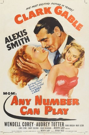 Any Number Can Play - Movie Poster (thumbnail)