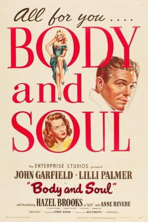 Body and Soul - Movie Poster (thumbnail)