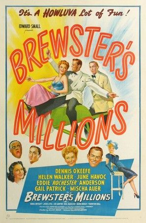 Brewster's Millions - Movie Poster (thumbnail)