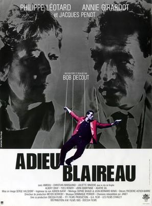 Adieu blaireau - French Movie Poster (thumbnail)