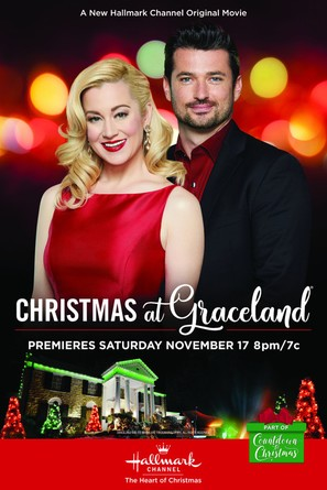 Christmas At Graceland 2018 Hallmark Poster.Christmas At Graceland 2018 Movie Posters