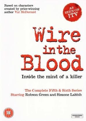 """""""Wire in the Blood"""" - British DVD movie cover (thumbnail)"""