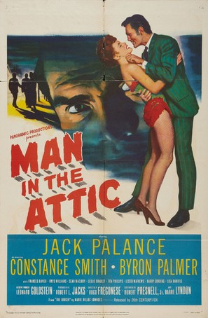 Man in the Attic - Movie Poster (thumbnail)