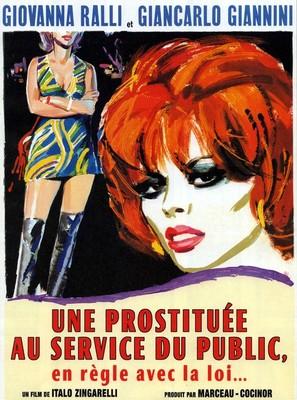 Una prostituta al servizio del pubblico e in regola con le leggi dello stato