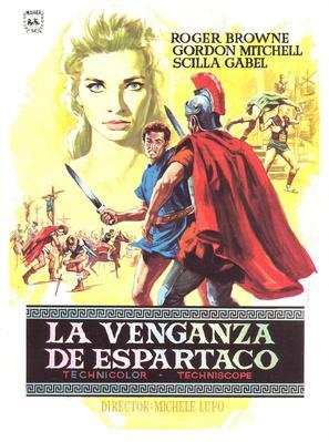 La vendetta di Spartacus - Spanish Movie Poster (thumbnail)