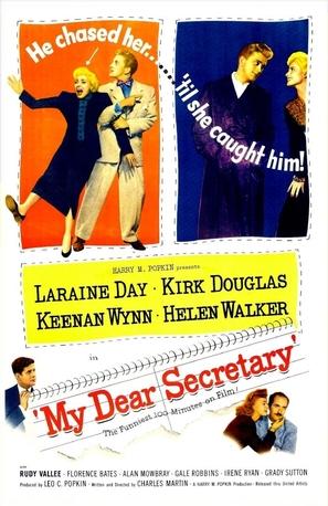 My Dear Secretary - Movie Poster (thumbnail)