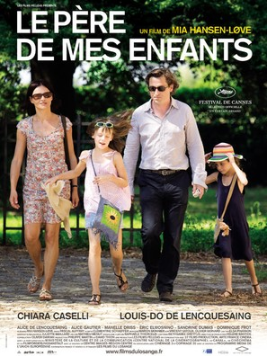 Le père de mes enfants - French Movie Poster (thumbnail)