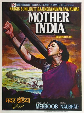 Mother India - Indian Movie Poster (thumbnail)