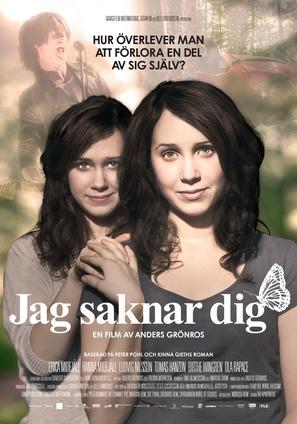 Jag saknar dig - Swedish Movie Poster (thumbnail)