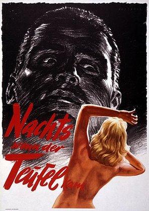 Nachts, wenn der Teufel kam - German Movie Poster (thumbnail)