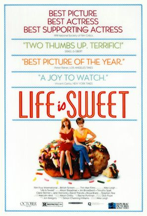 Life Is Sweet - Movie Poster (thumbnail)