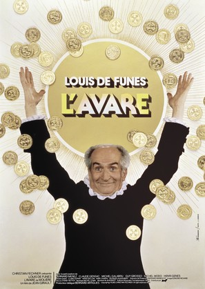 L'avare - French Movie Poster (thumbnail)