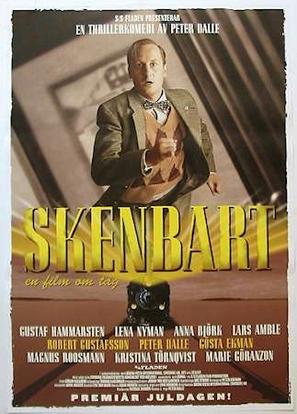 Skenbart - en film om tåg - Swedish Movie Poster (thumbnail)