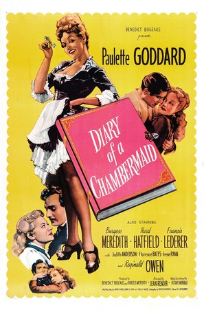 The Diary of a Chambermaid - Movie Poster (thumbnail)