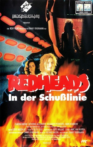 Redheads - German VHS movie cover (thumbnail)