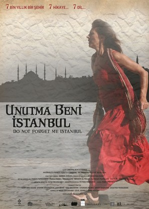 Do Not Forget Me Istanbul - Turkish Movie Poster (thumbnail)