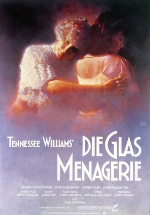 The Glass Menagerie - German Movie Poster (thumbnail)