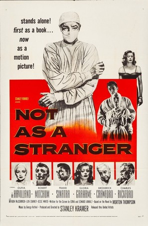 Not as a Stranger - Movie Poster (thumbnail)