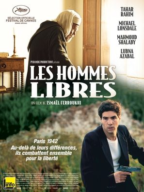 Les hommes libres - French Movie Poster (thumbnail)