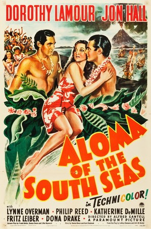 Aloma of the South Seas - Movie Poster (thumbnail)