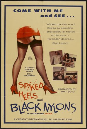 Spiked Heels and Black Nylons - Movie Poster (thumbnail)