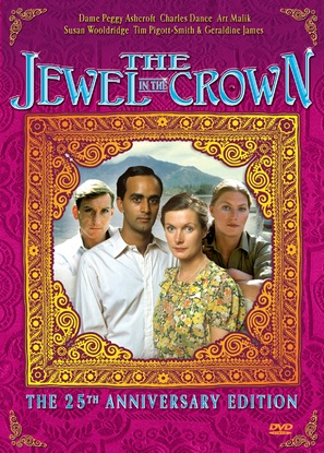 """""""The Jewel in the Crown"""" - DVD movie cover (thumbnail)"""