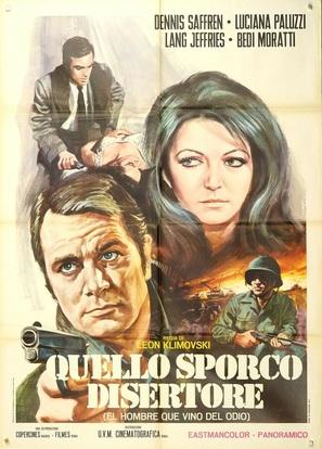 El hombre que vino del odio - Italian Movie Poster (thumbnail)