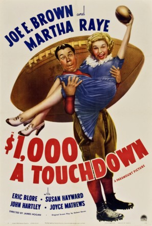 $1000 a Touchdown - Movie Poster (thumbnail)