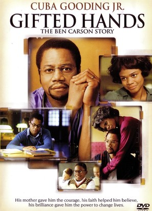 Gifted Hands: The Ben Carson Story - DVD cover (thumbnail)