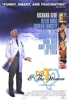 Dr. T & the Women - Canadian Movie Poster (thumbnail)