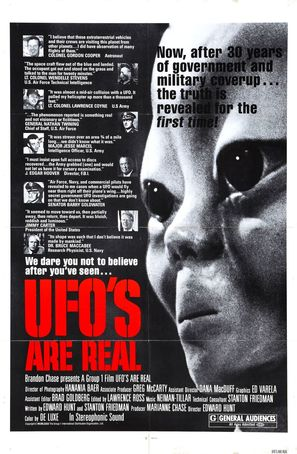 UFO's Are Real - Canadian Movie Poster (thumbnail)