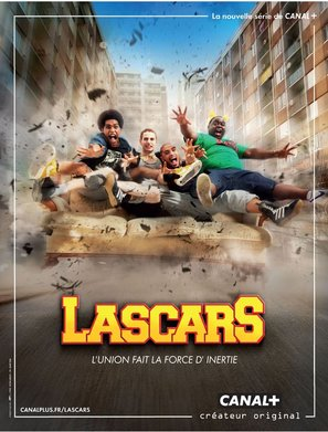 """""""Lascars"""" - French Movie Poster (thumbnail)"""