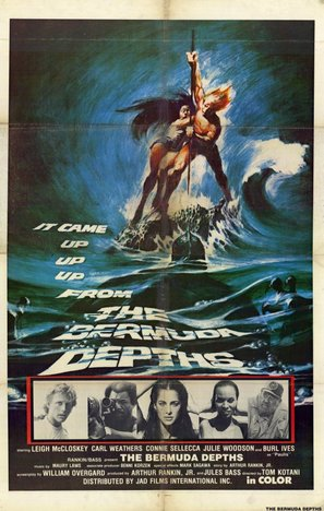 The Bermuda Depths - Theatrical poster (thumbnail)