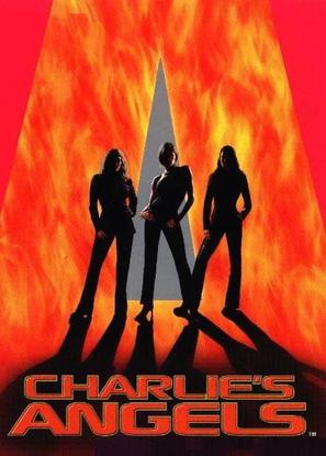 Charlie's Angels - DVD movie cover (thumbnail)