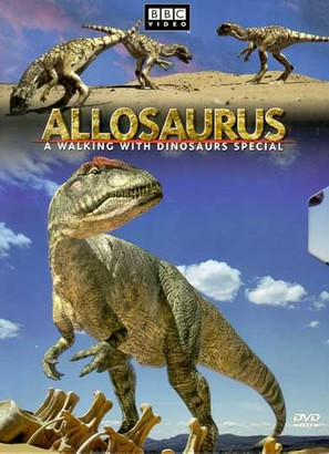 Allosaurus - DVD cover (thumbnail)