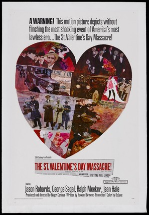 The St Valentine S Day Massacre 1967 Movie Posters