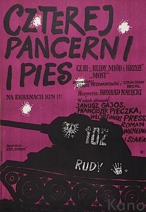 """Czterej pancerni i pies"" - Polish Movie Poster (thumbnail)"