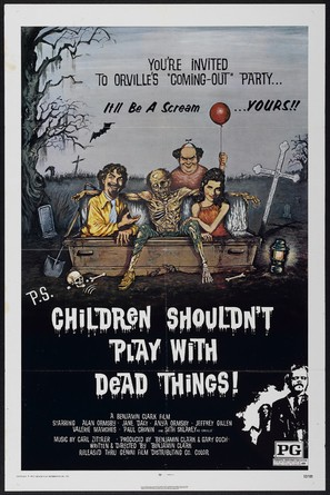 Children Shouldn't Play with Dead Things - Theatrical poster (thumbnail)