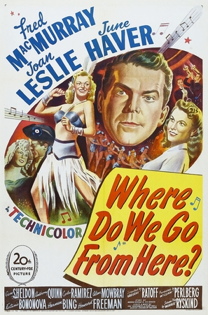 Where Do We Go from Here? - Theatrical poster (thumbnail)
