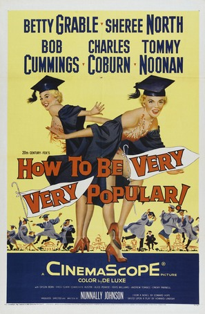 How to Be Very, Very Popular - Movie Poster (thumbnail)